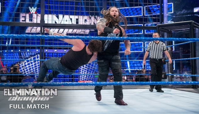 Match entier : Elimination Chamber Match 2017
