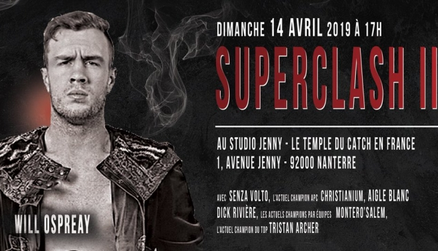[Update] APC : Will Ospreay arrive en France