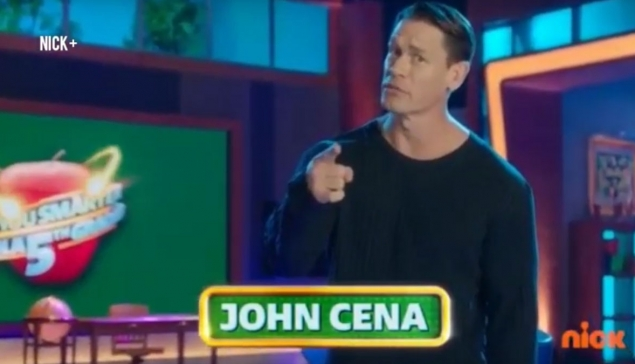 Premiers extraits de John Cena dans ''Are You Smarter Than a 5th Grader ?''