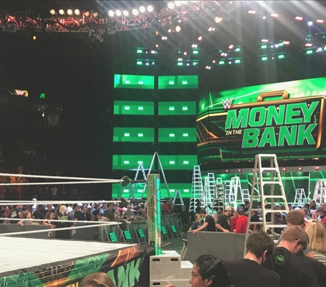 Une WWE Superstar blessée dans les coulisses de Money in the Bank