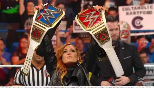 Money in the Bank : Becky Lynch a-t-elle toujours ses ceintures ?