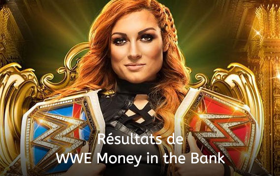 Résultats Money in the Bank
