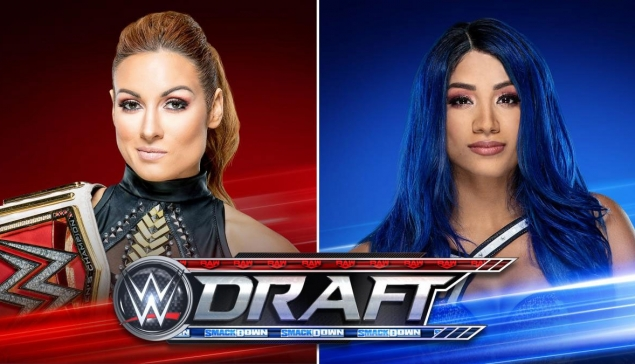 Becky Lynch contre Sasha Banks pour la seconde soirée du WWE Draft