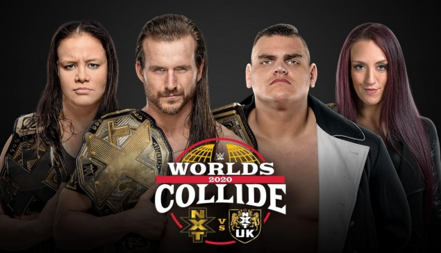 Carte de WWE Worlds Collide 2020