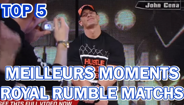 [Live à 18H] Top 5 des meilleurs moments de Royal Rumble Matchs - Récatch #24