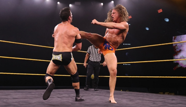 #AventureWM J-8 : Matt Riddle se propose pour affronter Goldberg