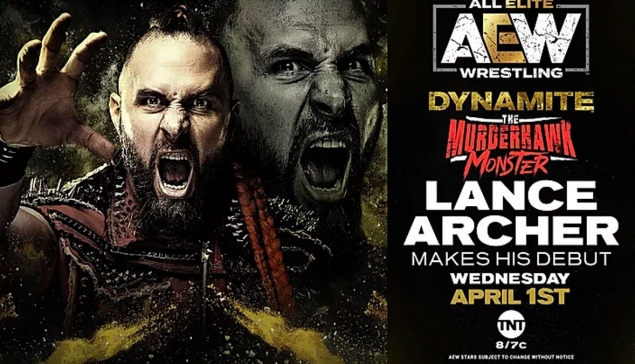 Preview : AEW Dynamite du 1 avril 2020