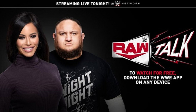Samoa Joe et Charly Caruso animeront RAW Talk