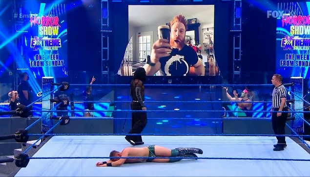 Extreme Rules : Un Bar Fight entre Jeff Hardy et Sheamus