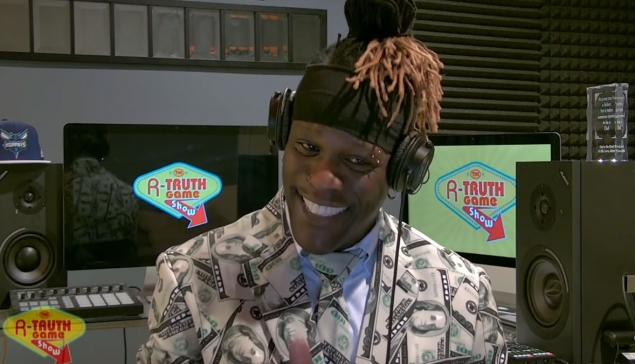 Le premier épisode du R-Truth Game Show