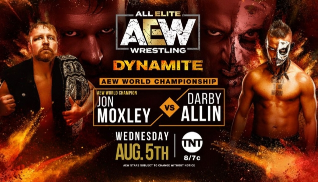 Preview : AEW Dynamite du 5 août 2020