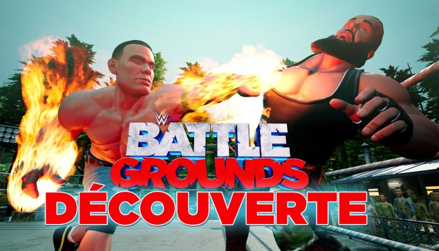 On découvre WWE 2K Battlegrounds !