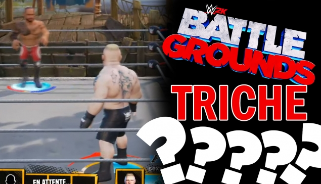 WWE 2K Battlegrounds : On triche pour gagner ! (King of the Battleground)