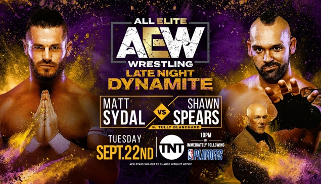 Preview : AEW Dark et AEW Late Night du 22 septembre 2020