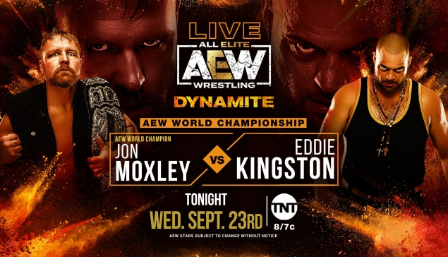 Preview : AEW Dynamite du 23 septembre 2020