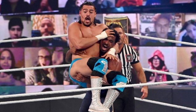 Clash of Champions : Angel Garza blessé, fin de match compliquée