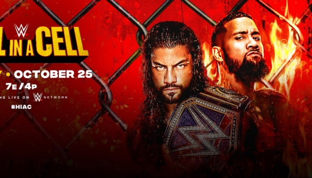 Carte de WWE Hell in a Cell 2020