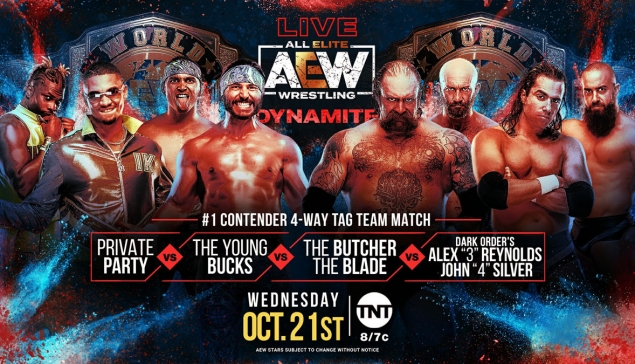 Preview : AEW Dynamite du 21 octobre 2020