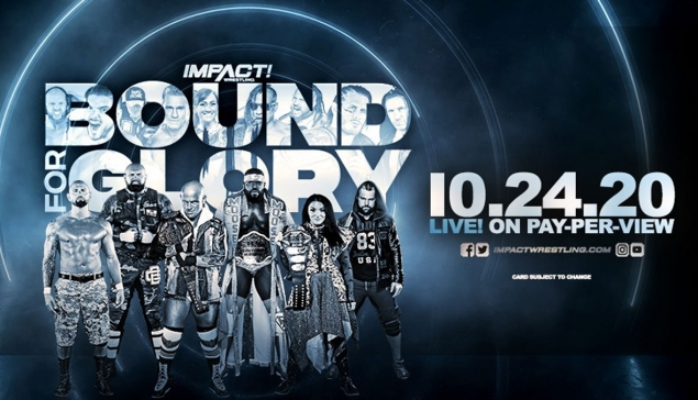 Carte d'Impact Wrestling Bound for Glory 2020