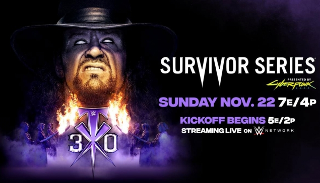 Le Kickoff de WWE Survivor Series sera plus long