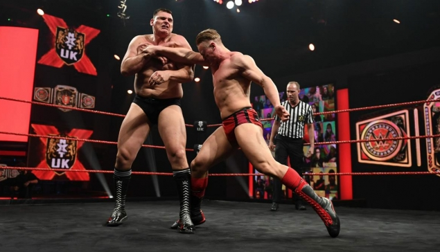 Résultats de WWE NXT UK du 29 octobre 2020