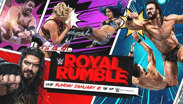 Carte de WWE Royal Rumble 2021