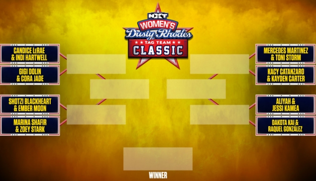 Le bracket féminin du Dusty Rhodes Tag Team Classic 2021