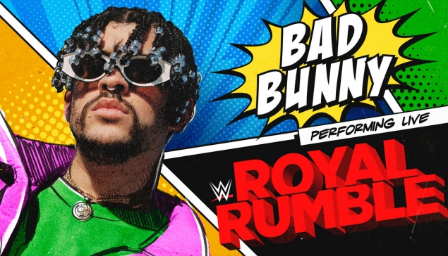 Une performance musicale de Bad Bunny pour le Royal Rumble