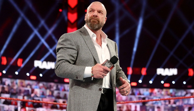 Triple H était bien la solution de secours à WWE RAW