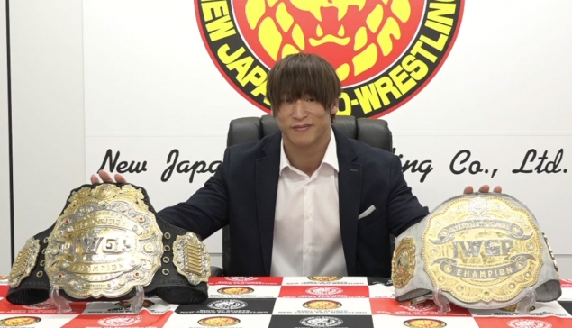 La NJPW unifie ses titres IWGP Heavyweight et Intercontinental