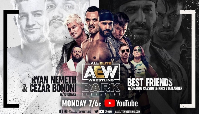 Résultats de AEW Dark Elevation du 12 avril 2021