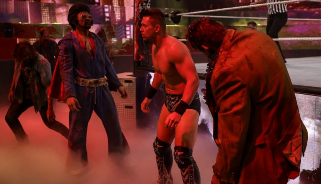 Backlash : Des zombies envahissent le ring !