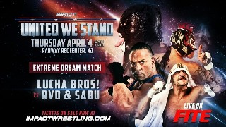 United We Stand Lucha Bros VS RVD and Sabu