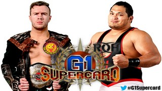 G1 Supercard Will Ospreay VS Jeff Cobb