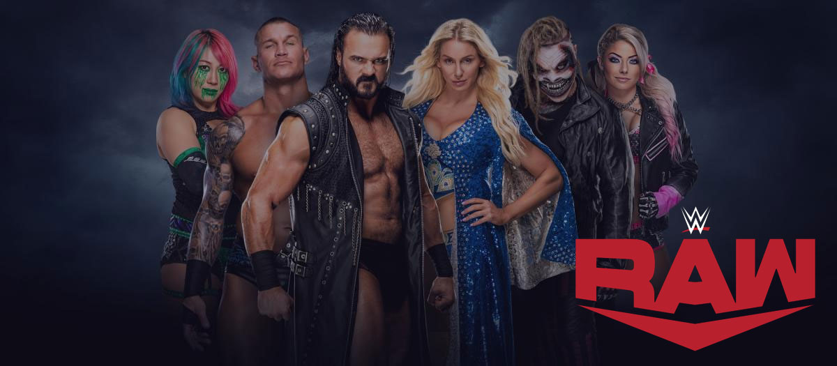wwe raw affiche octobre 2020