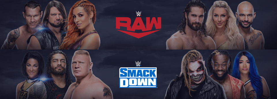 visuels RAW SmackDown